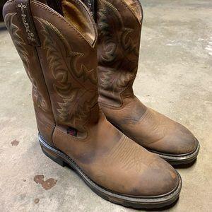 Men's Tony Lama TLX TW1007 Boots sz 10